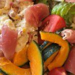 大うちごはん*好きなポテサラ・生ハムなどのサラダ盛合せ