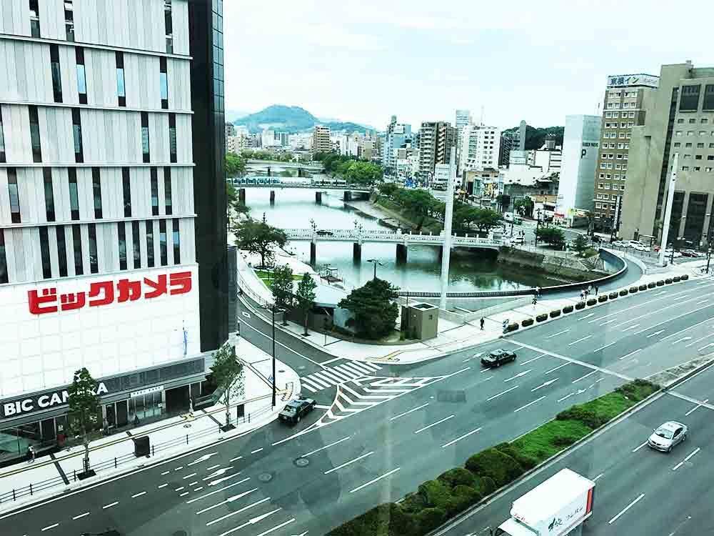 川の町広島市、川と橋のある風景は広島ならではのもの。