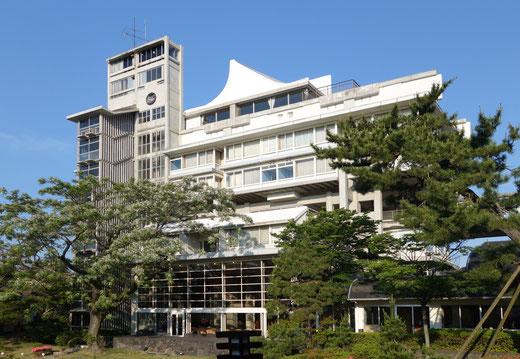 【近代建築の楽しみ】鳥取県-皆生温泉-東光園-菊竹清訓の設計