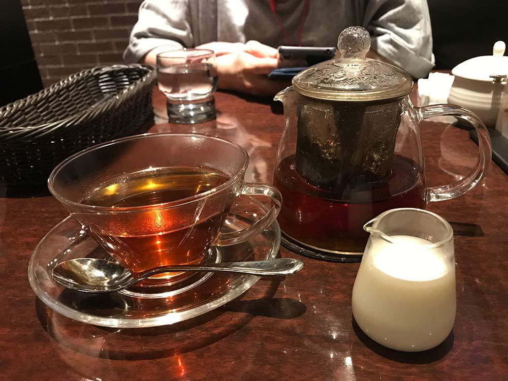 【星乃珈琲店】紅茶はポットでやってくる!