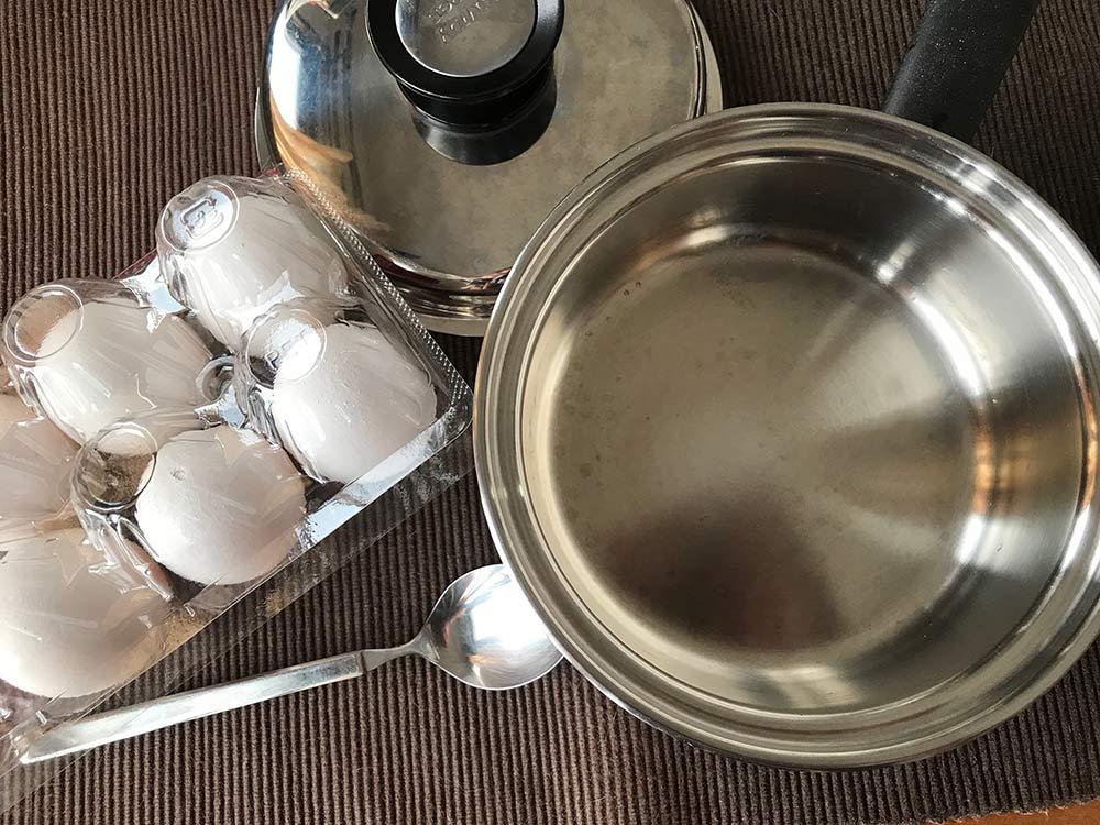 【はぴもり】は理想の半熟ゆで卵について語りたい!