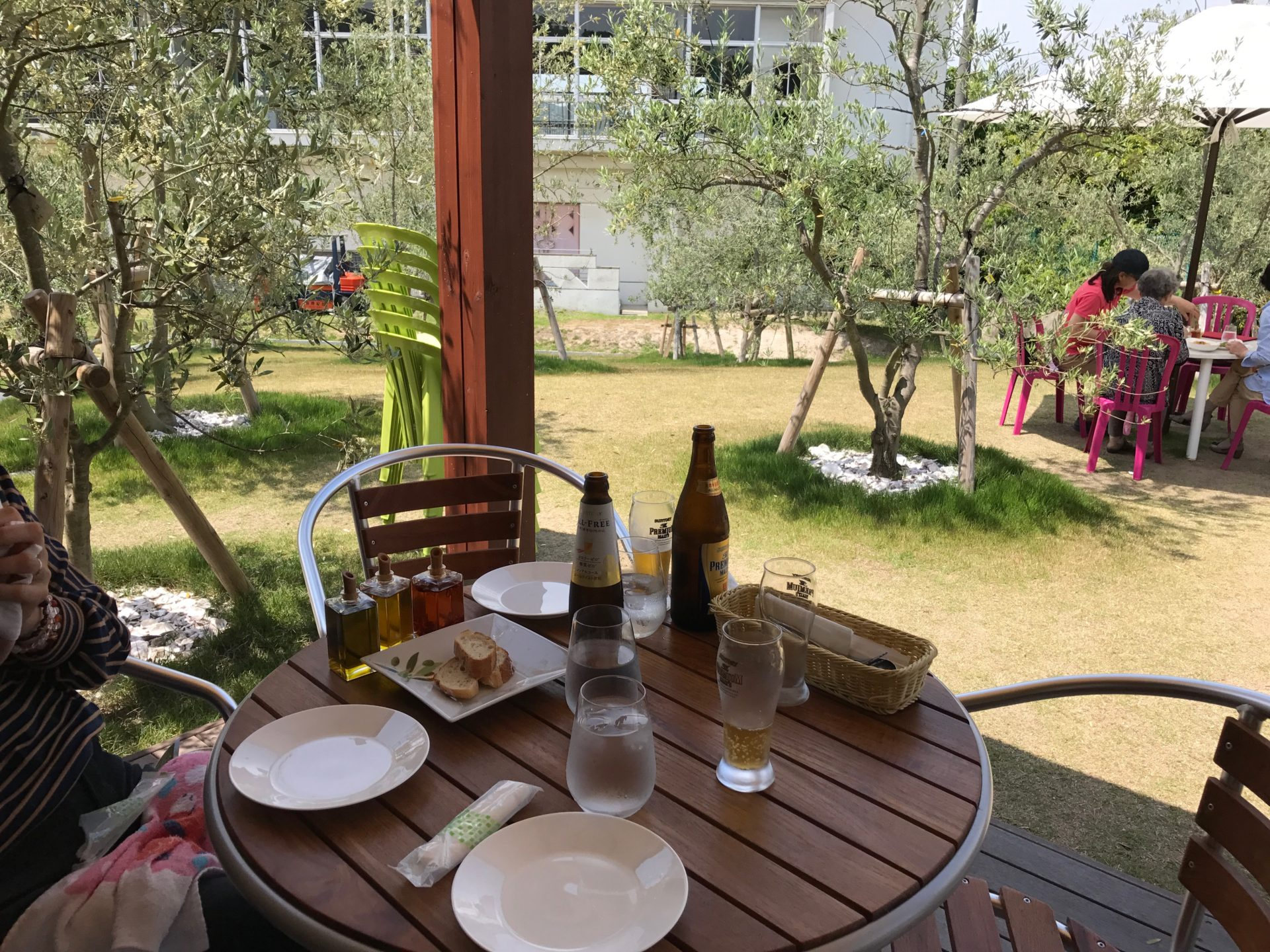 江田島オリーブファクトリー*ガーデンランチ