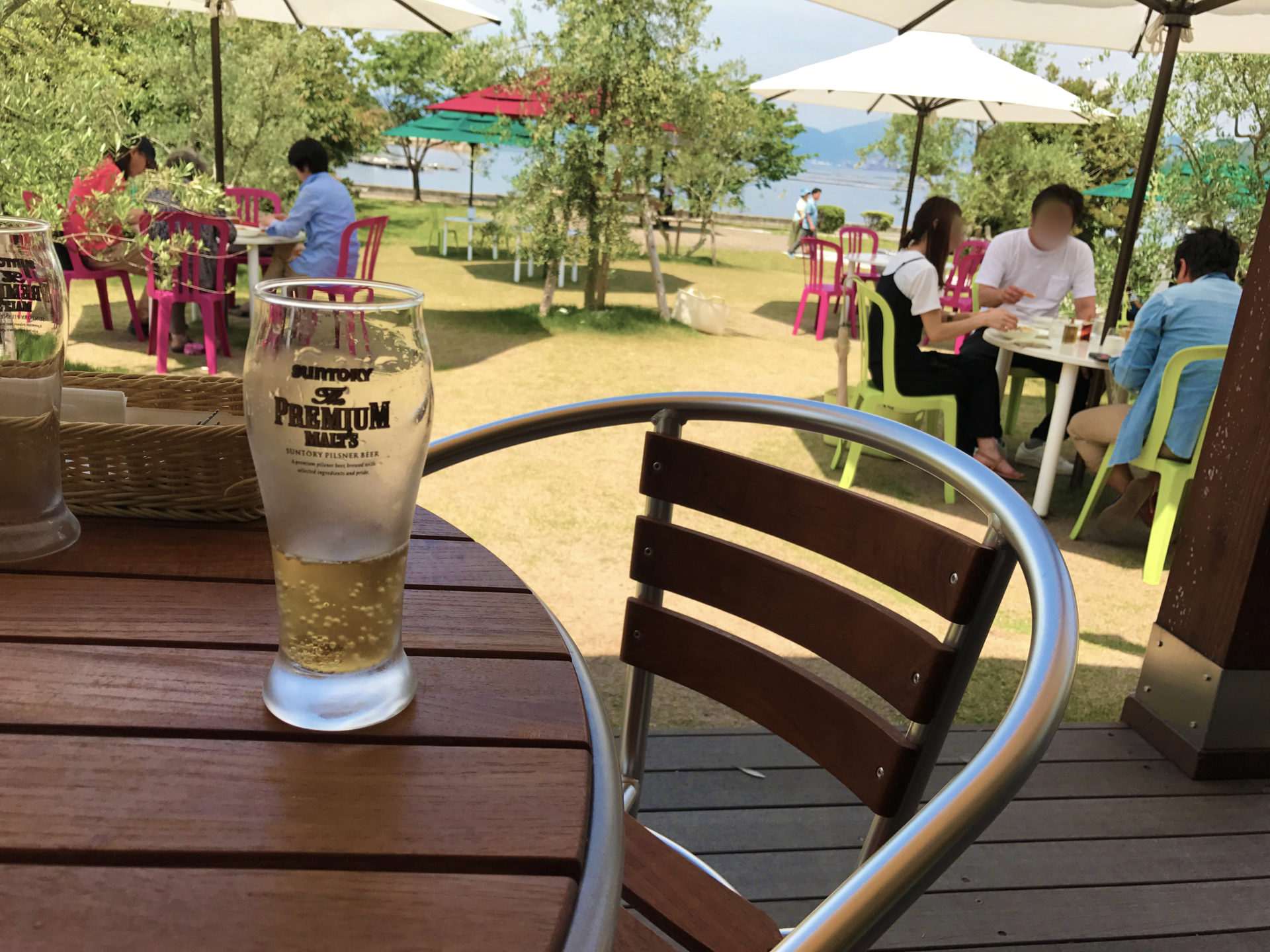 江田島*海を見ながらのビールは最高に違いない
