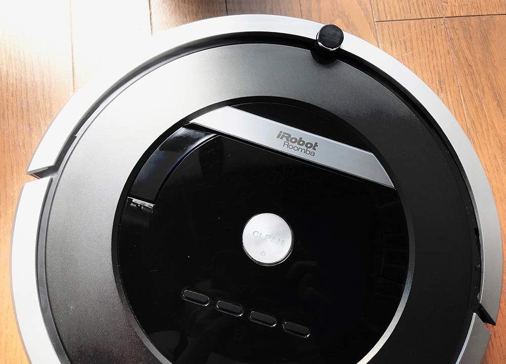 アイロボット・ルンバの再起動*真ん中のボタンを長押し