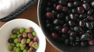 オリーブの実を拾いました。どうやったら食べられる?