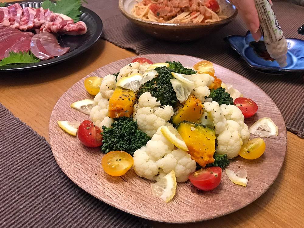 ブロッコリーの茎を美味しく食べる*今日の夕食は温野菜サラダ!