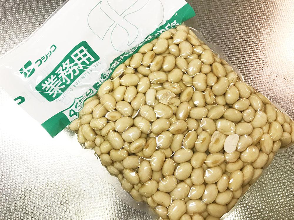 大豆の水煮*大袋を買うと割安、でも自分で作るともっと経済的