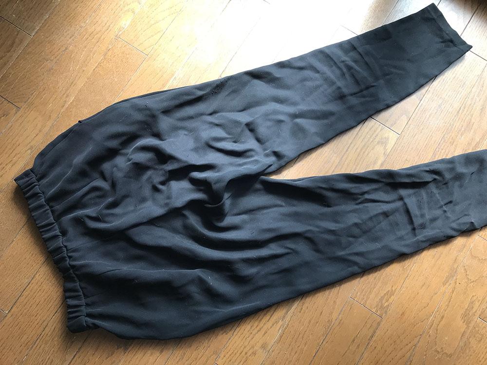 乾燥機付洗濯機*乾燥機にかけるとシワシワになってしまう衣類がある!化繊のパンツもシワシワ